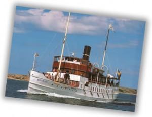 Kusttur med Ångbåten Bohuslän till Göteborg @ Sverige
