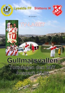 TV-Laget kommer till Lysekil @ gullmarsvallen, lysekil
